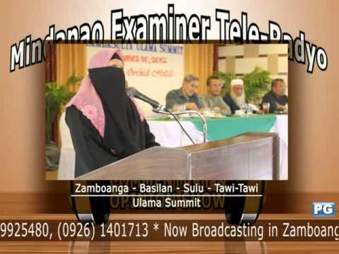 Mindanao Examiner Tele-Radyo Sept. 10, 2012 Special Episode: Ulama Summit
