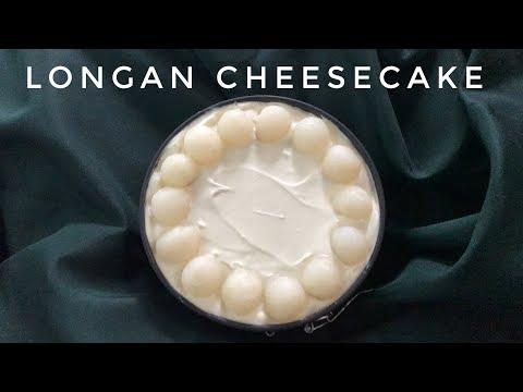 No Bake Longan Cheesecake | AILIN BAKERY HOUSE