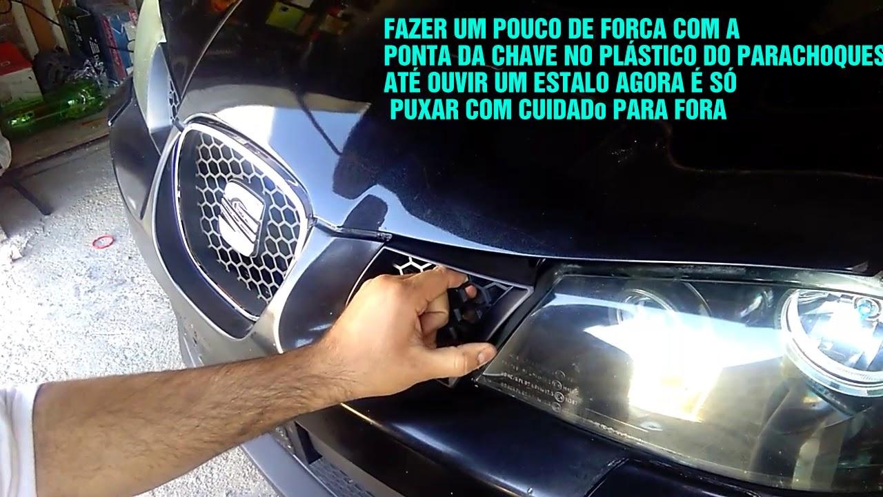 Retirar Grelhas Frontais Laterais Seat Ibiza 6l Mkiv Remove Front Side Grille