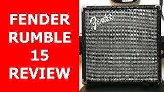 Bueno, bonito y barato: Fender Rumble 15 Review en Español