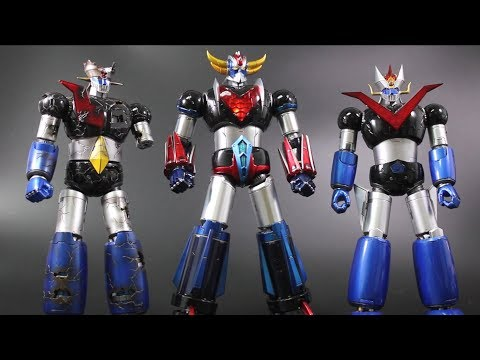 [Unboxing]King Arts- UFO Robot Grendizer  ロボグレンダイザー「巨靈神」
