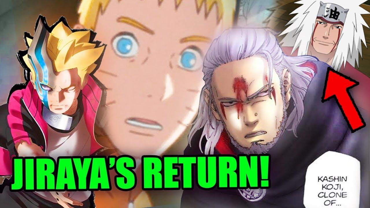 Download Naruto Learns of Jiraiya's Return in Boruto - Kashin Koji vs Isshiki Otsutsuki - Boruto Chapter 47