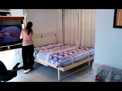 Video cama rebatible plegable doovi - Hacer una cama abatible ...
