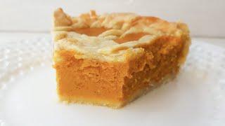 АМЕРИКАНСКИЙ тыквенный пирог🍁РЕЦЕПТЫ ИЗ ТЫКВЫ🍁 PUMPKIN pie recipe