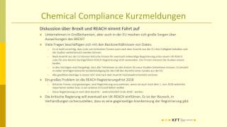 Webinar KFT Chemical Compliance Live vom 10.02.2017