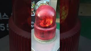 홈플러스 일산점 큐라이트 출차주의등(설명하는 영상)