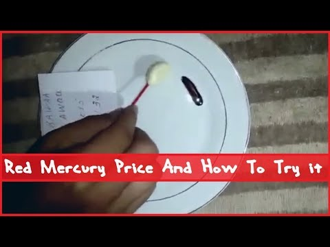 Red Mercury Price And How To Try It