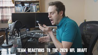 Team Reactions to the 2020 NFL Draft