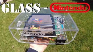 GLASS NINTENDO CONSOLE!! CLEARLY AN NES!!