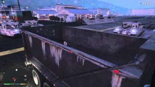 Grand Theft Auto V Dump Truck Glitch