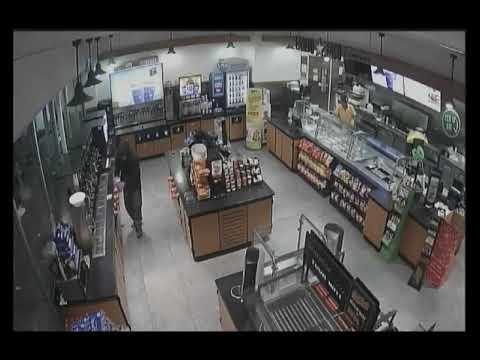 Convenience Market Surveillance Video