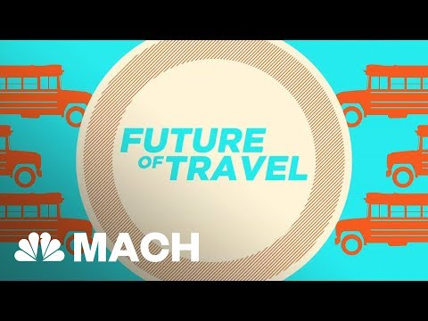 This Futuristic Transport System Could End Traffic Jams | Mach | NBC News