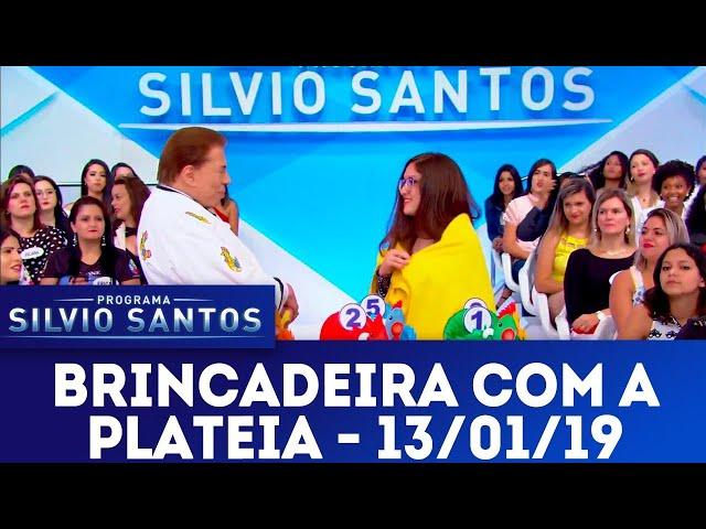 Brincadeira com a plateia | Programa Silvio Santos (13/01/19)