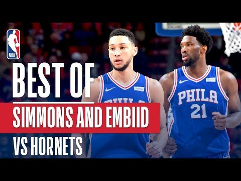 Ben Simmons & Joel Embiid DO WORK In Philly!
