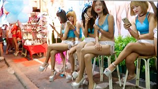 Repeat youtube video Pattaya Walking Street - 24 July 2016