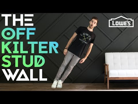 THE OFF KILTER STUD WALL /// Experiment #002