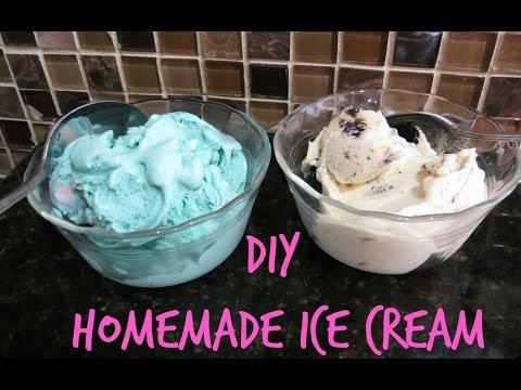 SUMMER 2015 DIY TREATS: HOW TO MAKE HOMEMADE BUBBLE GUM & COOKIES 'N' CREAM ICE CREAM