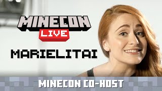 MINECON Live Co-Host Announce: Marielitai