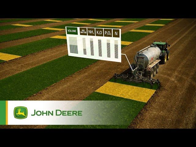 John Deere Manure Sensing