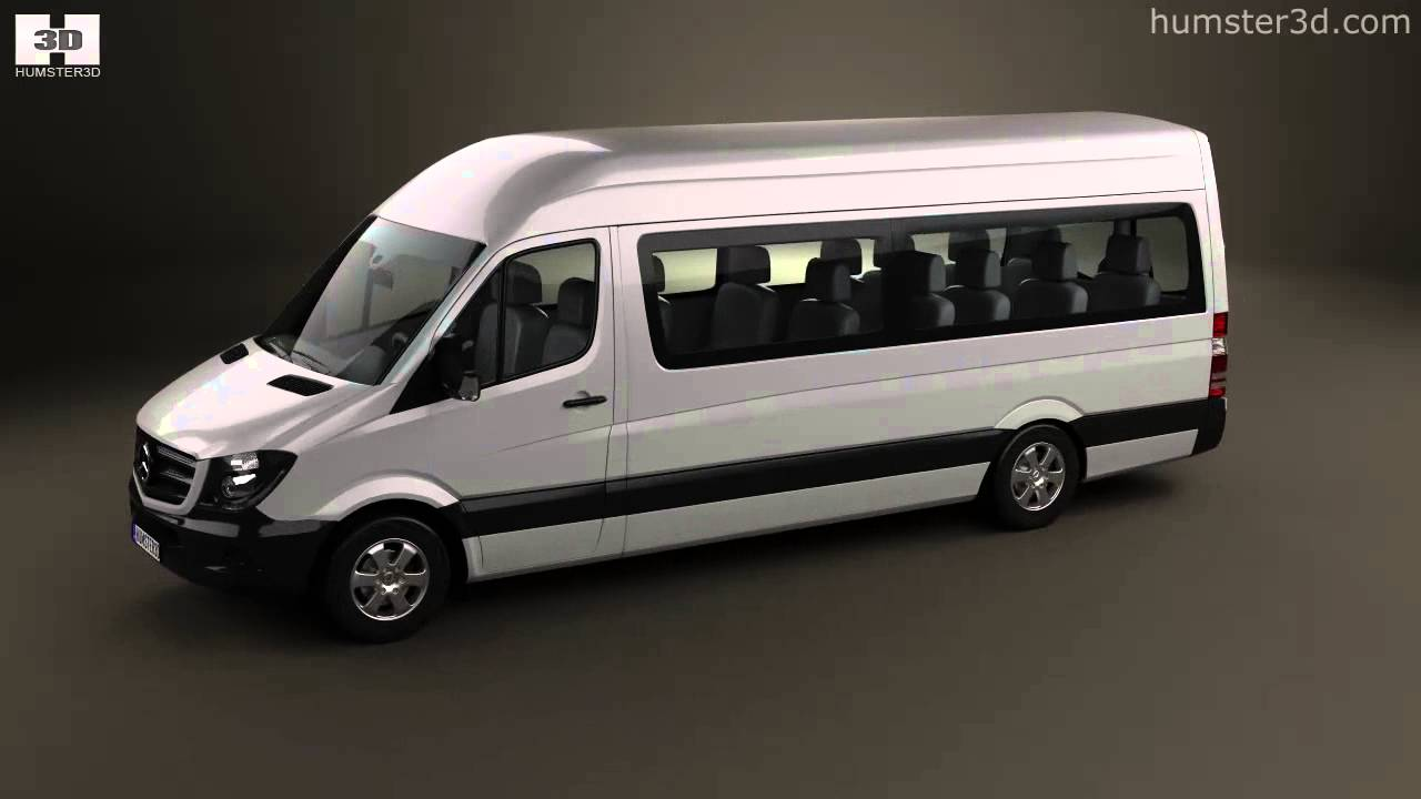 Mercedes benz sprinter passenger van lwb hr 2013 by 3d for Mercedes benz passenger van