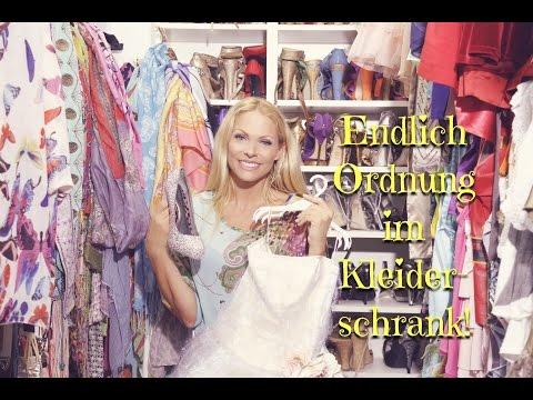 SONYA'S SECRETS - Ordnung im Kleiderschrank mit System!