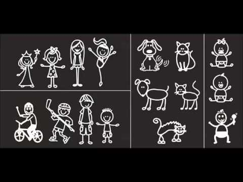 Police Discuss Vehicle Stickers Featuring Family As Stick