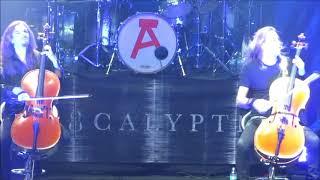 Apocalyptica - Wherever I May Roam (Metallica cover) - Bogotá 19 de Noviembre 2017