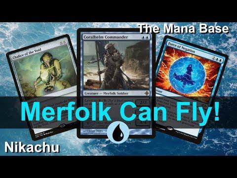 Modern Merfolk Deck Tech and MTG Gameplay July 2019