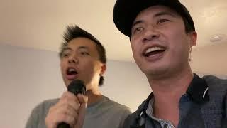 Me and my friend singing 'Lose Yourself' (Eminem karaoke)