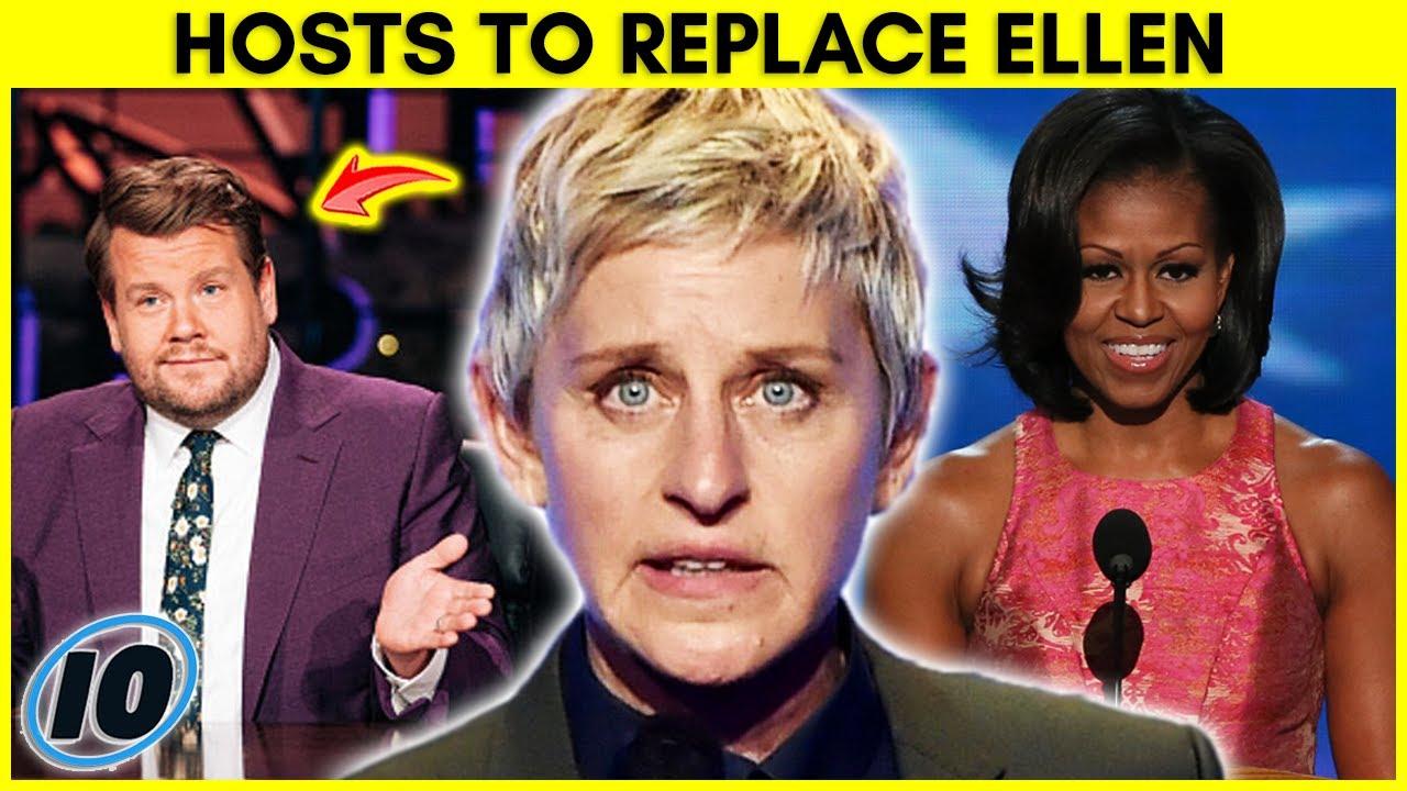 Top 5 Celebrities That Should Replace Ellen DeGeneres