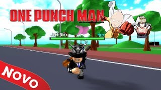 NEW AMAZING GAME on ROBLOX PROJECT: ONE PUNCH MAN