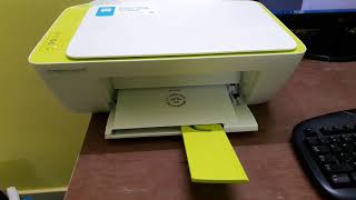 HP DeskJet Ink Advantage 2135 All-in-one Printer Unboxing & Initial setup