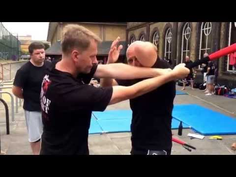 Baseball Bat Defence With Ricky Manetta - MMA Krav Maga