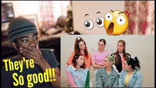 THEIR VOCALS!!! CIMORELLI - THANK U NEXT (OFFICIAL COVER ) **REACTION!!**
