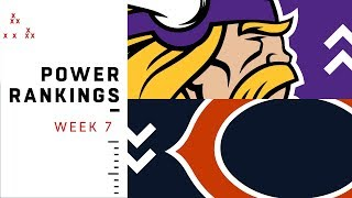 NFL Week 7 Power Rankings!