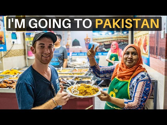 I'M GOING TO PAKISTAN