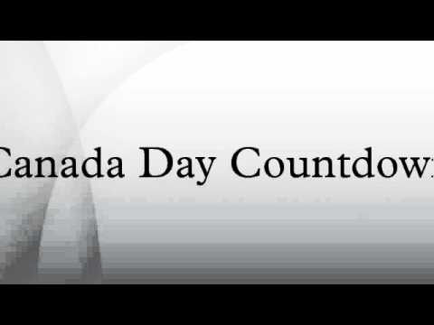 Canada Day Countdown