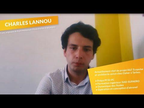Paroles d'alumni #3 : Charles Lannou, S2019 & travaille en recherche et technologie chez Daher !