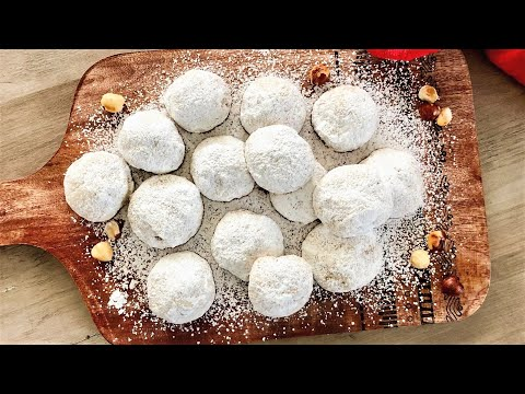 Snowball Cookies - Mexican Wedding Cookies