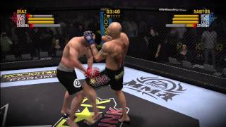 "EA SPORTS MMA Nick Diaz vs. Evangelista ""Cyborg"" Santos By actF MarCSZ HD"