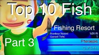 Top 10 Fish - Fishing Resort Wii - part 3