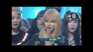 Today Winner 150402 Red Velvet 레드벨벳   No 1 1위! & Encore 엔딩 @ M! Countdown 1080p