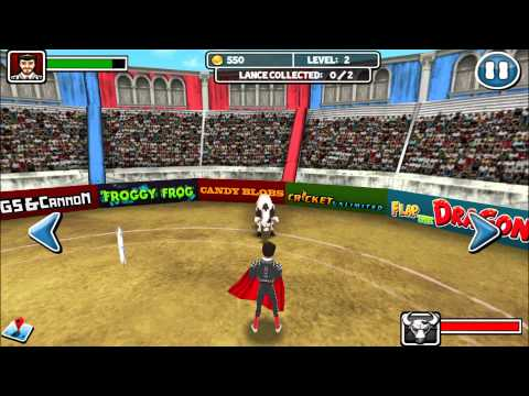 Bull Fighter Champion Matador - Android Gameplay