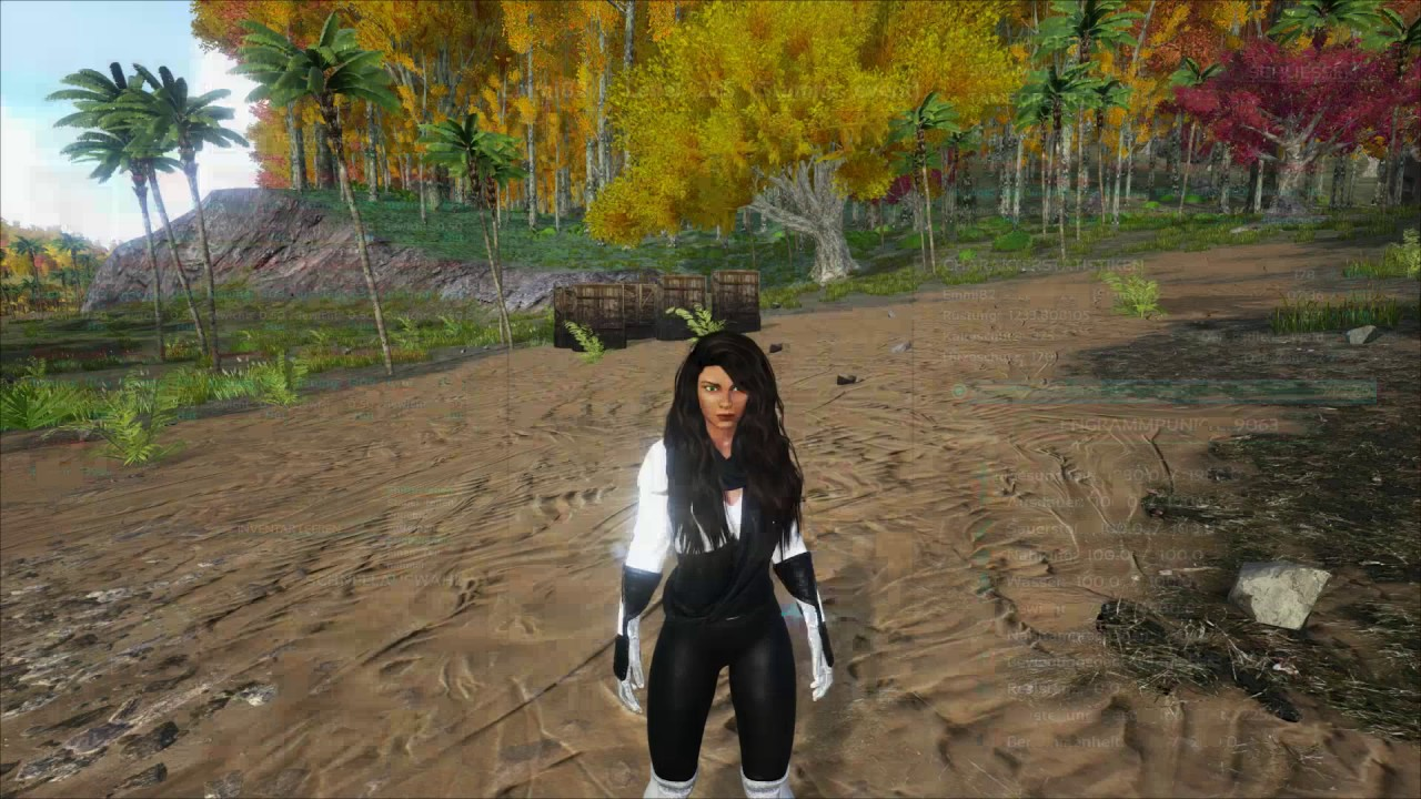 Ark Mod Test Stealthic Custom Hairstyles Schone Haare Emmi82 Youtube