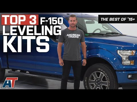 The 3 Best F150 Leveling Kits For 2015 - 2018 Ford F150