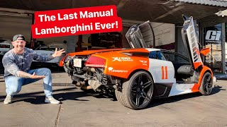 REBUILDING THE CHEAPEST MANUAL LAMBORGHINI LP640 IN THE COUNTRY! *TEST DRIVE GOES WRONG*