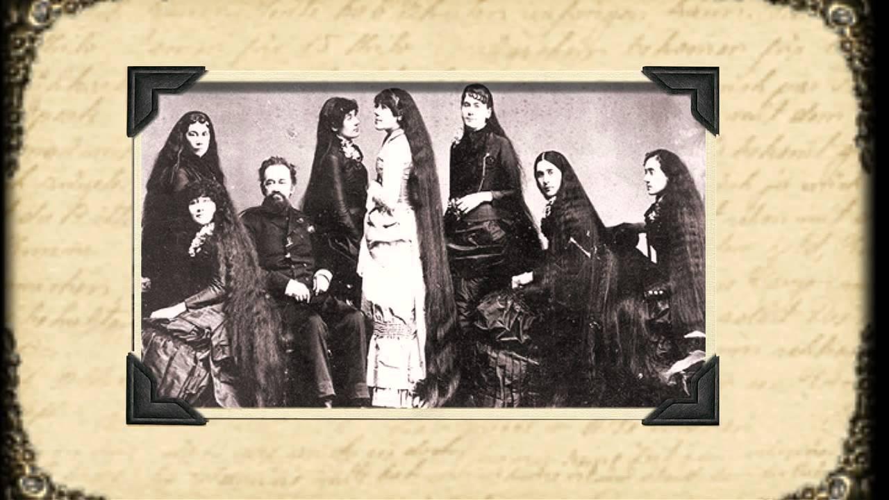 Королевы волос XIX века