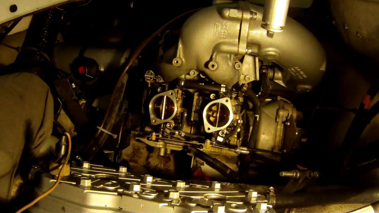 Seadoo speedster 787 carb install
