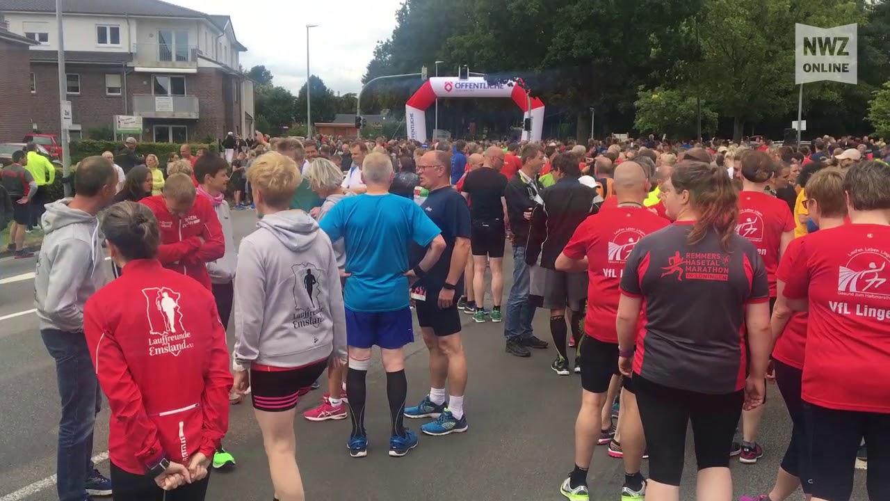 16. remmers-hasetal-marathon in löningen - youtube
