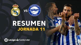 Resumen de Real Madrid vs Deportivo Alavés (1-2)